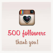 500 Instagram Followers and Likes